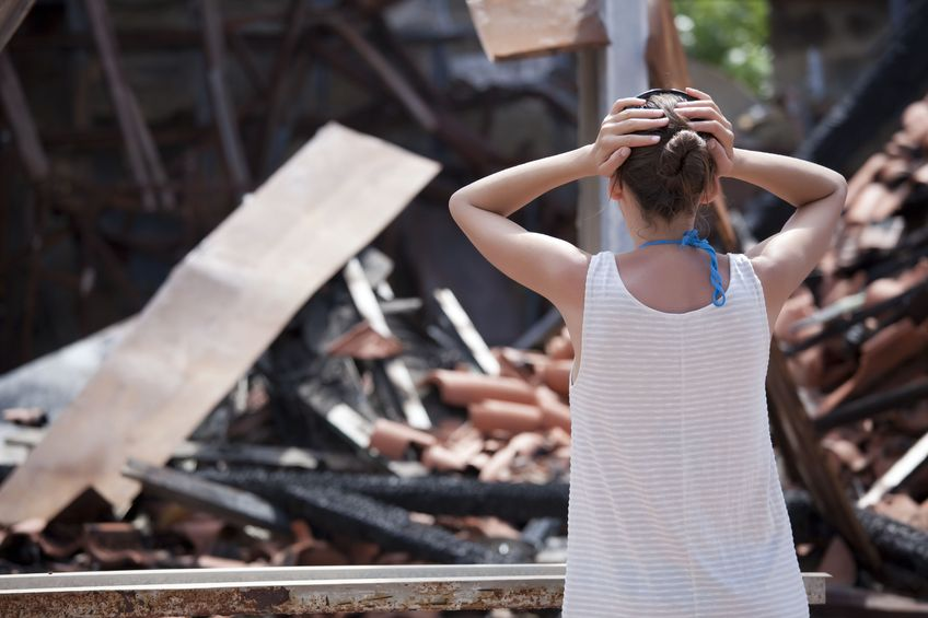 Renters insurance against loss from disasters, liability and injury